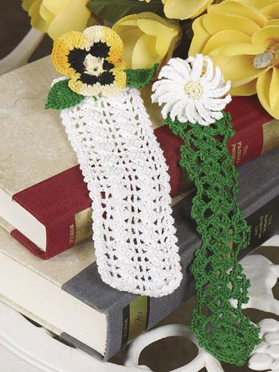 Crocheted Bookmarks Chicagoartcraft