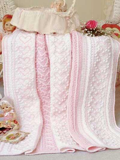 Crochet Heart Strings Afghan Chicagoartcraft